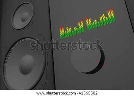 Loud Music - stock photo