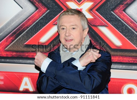 Louis Walsh arriving for the final of The X Factor 2011 at Wembley Arena in London. 10/12/201. Picture by: Simon Burchell / Featureflash - stock photo