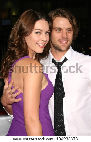 Louise Griffiths and Jesse Spencer  at the 2008 AFI Fest Centerpiece Gala Screening of 'The Wrestler'. Grauman's Chinese Theatre, Hollywood, CA. 11-06-08