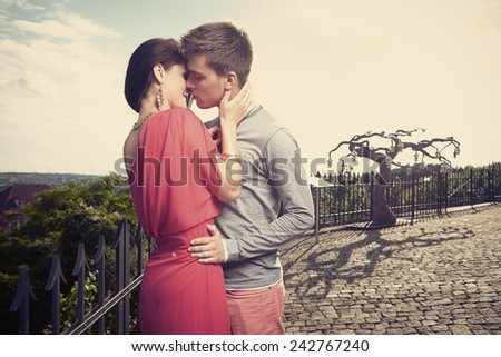 Love and passion - stock photo