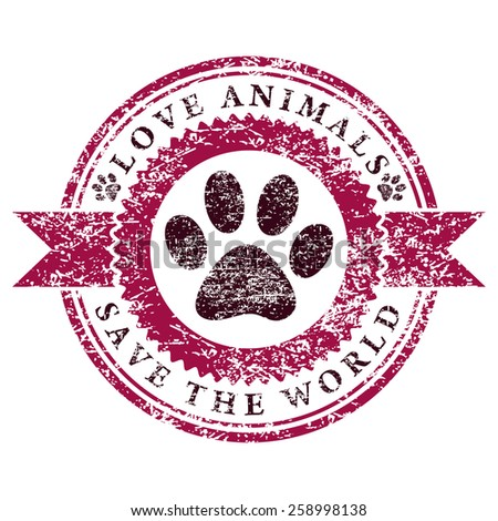 Love Animals - stock photo