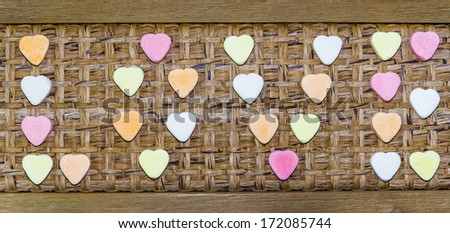 love candy - stock photo