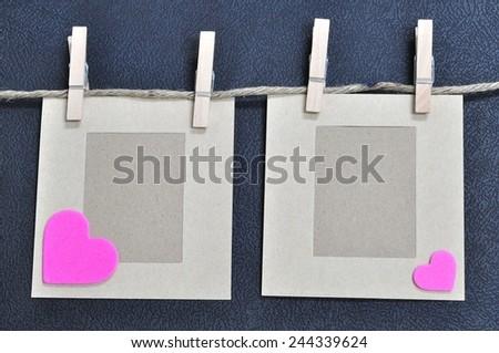 love card , valentine concept  - stock photo
