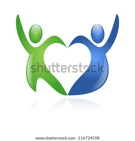 Love Dance - stock photo