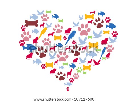 Love for pets - stock photo