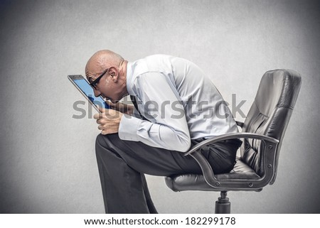 love for technology - stock photo