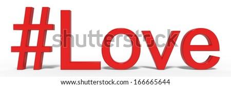 love icon - stock photo