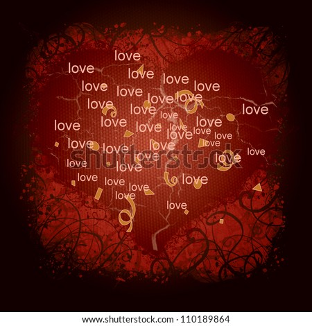 Love is beautiful - stock photo