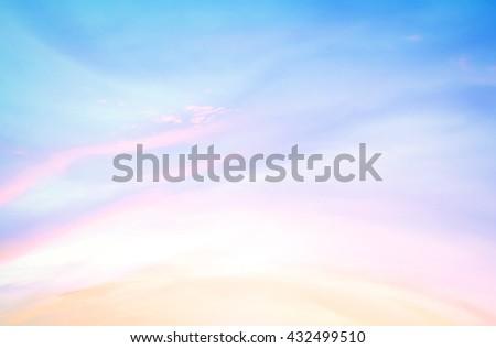 Love Line Magenta Purple Soft Orange Yellow Pink Blue White Sun Ray Glow Art View Sunny Warm Dawn Cloud Dusk Power Vivid Freedom Drama Scene Cloud Peace Color Nature Haze World Ocean Day concept. - stock photo