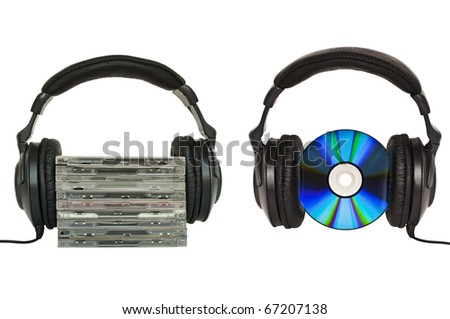 Love music or listen to music conceptual images