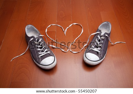 Love of shoes - stock photo