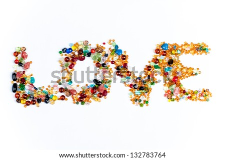LOVE sign - stock photo