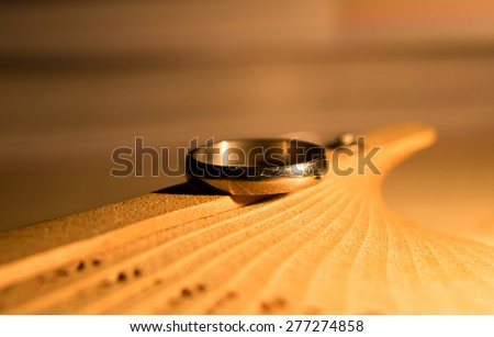 love story Still life,wedding ring