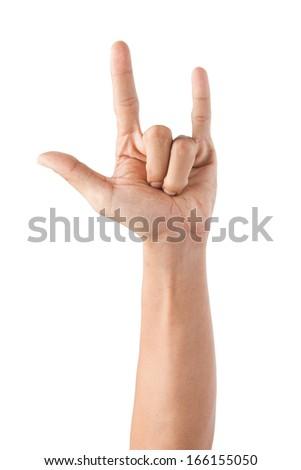 Love symbolic gestures - stock photo