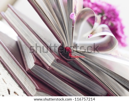 love to read - stock photo