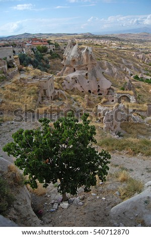 love valley Goreme Cappadocia Turkey in summertime