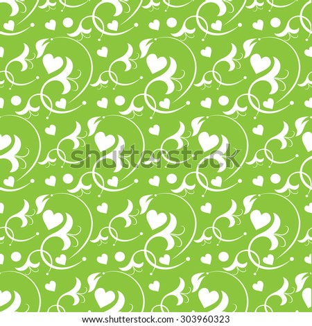 love wallpaper seamless pattern