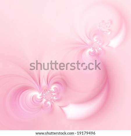 Lovely baby pink colored fractal background - stock photo