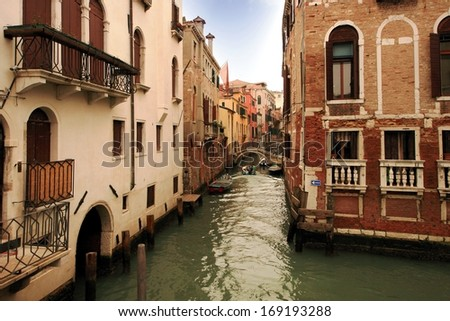 Lovely canals in Venice