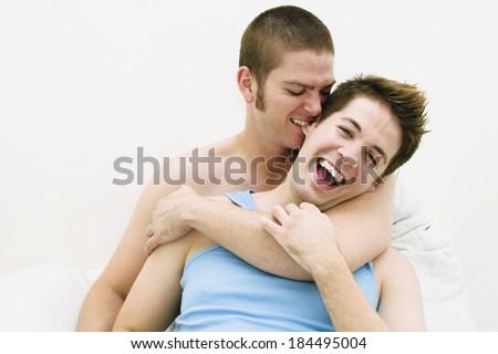 lovely couple - stock photo