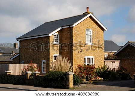 Lovely English brick cottage