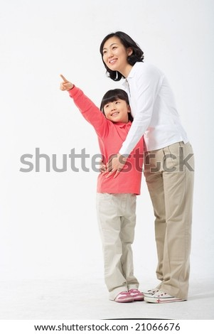 Lovely Family - stock photo