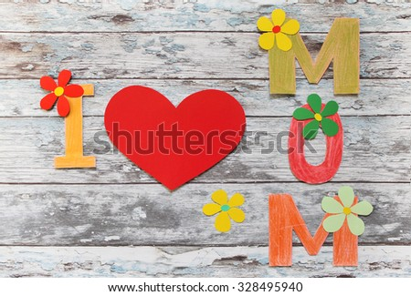 Lovely greeting card - Happy Mother's Day