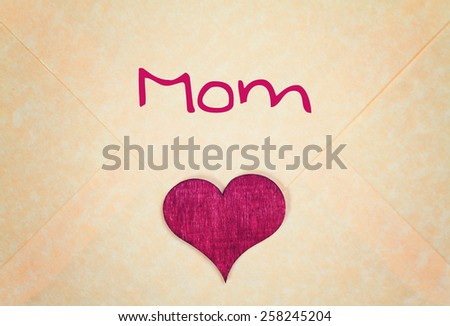lovely greeting card - happy Mothers day