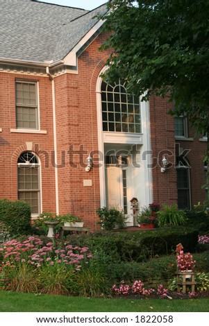 lovely home - stock photo