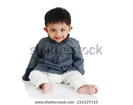 Lovely indian boy - stock photo
