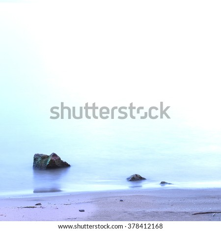 Lovely Lake Ontario Shoreline Stationery, at Oakeville, Ontario,