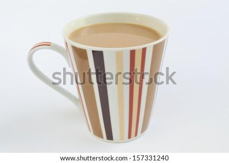 Lovely mug of tea - stock photo