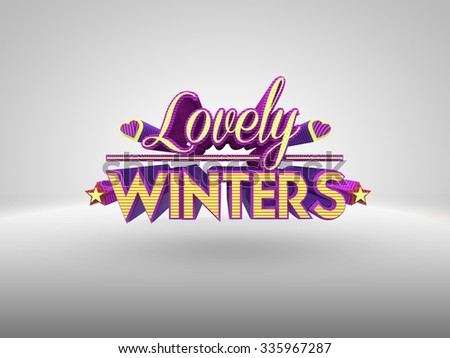 Lovely Winters 3d