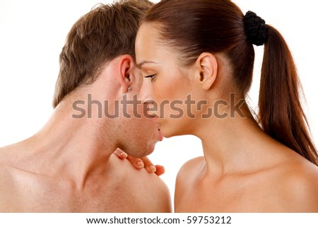 Loving affectionate nude