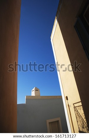 Low angle view of a building, Ponza, Province Of Latina, Lazio, Italy