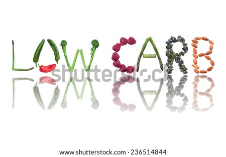 Low carb  - stock photo