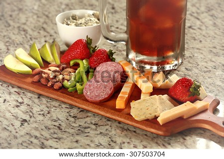 Low glycemic snack - stock photo