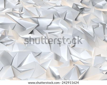 Low Poly Background - stock photo