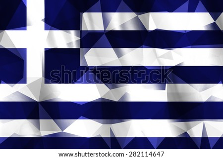 Low Poly Israel Flag