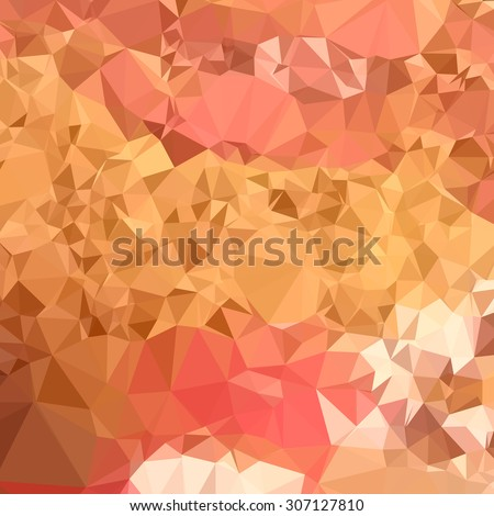 Low polygon style illustration of a wild orchid abstract geometric background. - stock photo