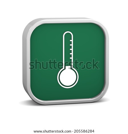 Low temperature sign on a white background. Part of a series.  - stock photo