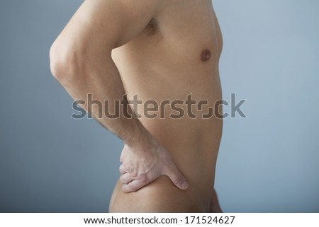 Lower Back Pain In A Man