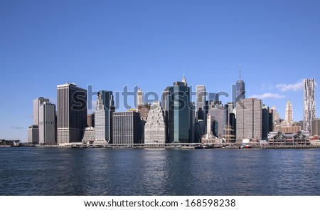 Lower Manhattan, NYC - USA