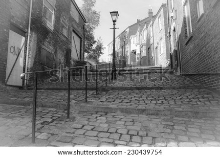 Lowry's Stairway - stock photo