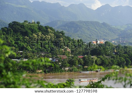 Luang Prabang, Laos - stock photo