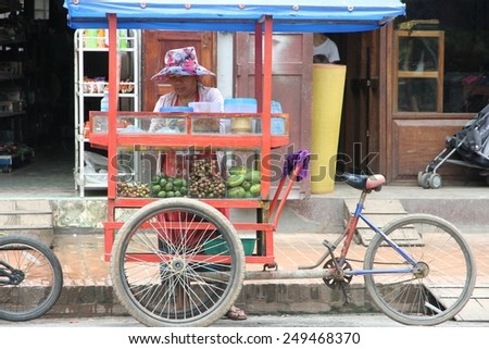 Galle Sri Lanka February 26 Elderly Stock Photo 201718613 ...