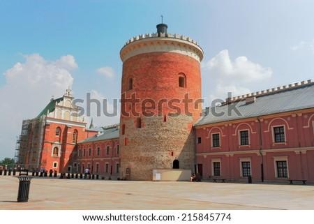 Lublin Castle Square - stock photo
