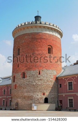 Lublin Castle Tower - stock photo