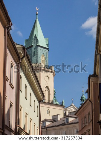 Lublin Old Town is one of the most precious Polish complexes of historic buildings.
