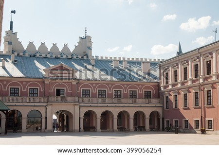 LUBLIN, POLAND - MAY 22, 2014 View of Lublin Royal Castle